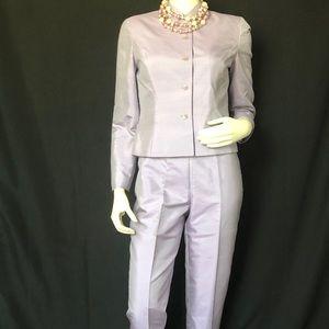 Lilac Silk Pant Suit